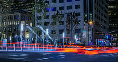 fremont restored (pbo31) Tags: sanfrancisco california city nikon d810 color night urban black august 2018 summer boury pbo31 lightstream traffic roadway motion financialdistrictsouth transbay transit center salesforce fremontstreet red