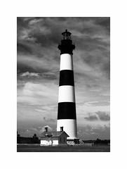Bodie Island Lighthouse, OBX (Joe Franklin Photography) Tags: bodieislandlighthouse lighthouse bodieisland blackandwhite almostanything joefranklin wwwjoefranklinphotographycom obx outerbanks northcarolina nc barrierislands