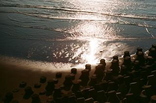 浪金沙,海景第一排。