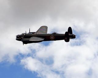 RAF BBMF Lancaster Bomber