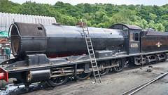 LNER Q6 No. 63395, Grosmont Shed, NYMR, 24 July 2018 (simage61) Tags: transportation railway heritage nymr locomotive steam lner 080 vincentraven q6 63395 grosmont yorkshirenorth englandnorth