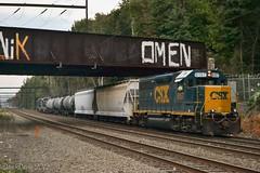 CSX C970-22 @ Woodbourne, PA (Dan A. Davis) Tags: csx freighttrain locomotive train gp382s gp402 gp382 woodbourne langhorne pa pennsylvania c970