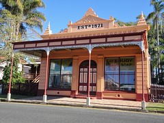 Maryborough. Brennan and Geraghty's general store. A place frozen in time. Closed 1972 with stock still there from the 19th century.  An exceptional find. (denisbin) Tags: maryborough brennanandgeraghty generalstore stock goods jam barrels storage