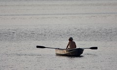 Blue Lake Rowing (danbruell) Tags: bluelake vacation family reunion michigan summer ludington nordhouse dunes