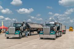 Dump Trucks (Charles G. Haacker) Tags: trucks trains planes automobiles tractors fireengines firefighters stearman airfield