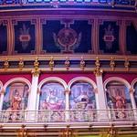Des Moines Iowa - Iowa State Capitol - Interior Murals Dome - Rotunda thumbnail