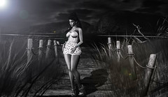 Walk in the Moonlight (~GraceSixpence~) Tags: c88 cae catwa fameshed fameshedgo foxcity limit8 maitreya runawayhair shinyshabby theskinnery vexiin gosboutique ~chicmoda~ sl slfashion secondlife slhairstyle