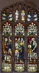 Dorcas clothes the poor, death of Dorcas, St Peter brings Dorcas back to life (Powell & Sons, c1880) (Simon_K) Tags: lopham norfolk eastanglia church churches south