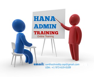 hana admin training