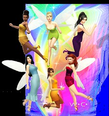 Disney Fairies (Willyssa) Tags: sims4 disneyfairies disney fairies pixiehollow tinkerbell iridessa vidia rosetta fawn silvermist friends color colour