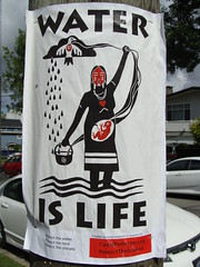 Water is Life (knightbefore_99) Tags: water eau agua life need drink wash sea rain cool design native poster art best message fight resist
