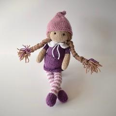 Elena Elf (Knitting patterns by Amanda Berry) Tags: dolls doll knit knits knitting knitter knitters knitted pattern ravelry yarn toys toy elf elves girls plaits plait handmade makers making hobby hobbies amanda berry crafts crafting make