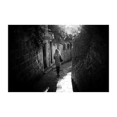 dubrovnik (s_inagaki) Tags: monochrome walking bnw street モノクロ oldlens 白黒 bw 散歩 vintagelens blackandwhite dubrovnik スナップ croatia ドゥブロヴニク オールドレンズ クロアチア snap industar69