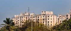 Apartments in Mumbai (Harold Brown) Tags: apartment architecture building india jogeshwarieast maharashtra mumbai nh8 nationalhighway8 nikon nikond90 outdoor sky travel westernexpresshighway bhagavideocom haroldbrowncom harolddashbrowncom photosbhagavideocom haroldbrown