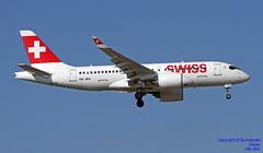 HB-JBA LMML 22-06-2018 (Burmarrad (Mark) Camenzuli Thank you for the 12.2) Tags: airline swiss aircraft bombardier bd5001a10 cseries cs100 registration hbjba cn 50010 lmml 22062018