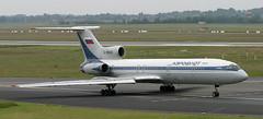 Tu-154   RA-85649   DUS   20040605 (Wally.H) Tags: tupolev tu154 tupolev154 ra85649 aeroflot dus eddl dusseldorf airport