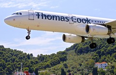 JSI/LGSK: ThomasCook (SmartLynxAirlines) Airbus A321-231 YL-LCQ (Roland C.) Tags: airport skiathos greece ski airliner aircraft aviation airplane jsi lgsk thomascook smartlynx airbus a321 a322 yllcq