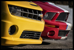 Transformers + I Am Legend (2018) (Ismael Jorda) Tags: chevrolet camaro ss tranformers autobots bumblebee ford mustang shelby cobra gt500 engine car sport racing racecar vehicle american muscle road