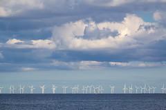 Denmark - Dragor - Oresund Wind Turbines (Marcial Bernabeu) Tags: marcial bernabeu bernabéu denmark danmark dinamarca europe danish danes danés danesa scandinavia escandinavia dragor oresund aerogeneradores wind turbine blue azul clouds nubes sea ocean mar oceano océano agua water dragør