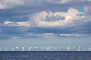 Denmark - Dragor - Oresund Wind Turbines