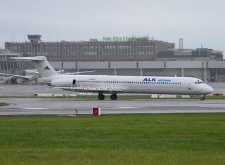 Air Lubo / ALK Airlines  ( Bulgaria )                     McDonnell Douglas MD82                                                LZ-ADV