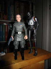 IMG_4039 (Brechtbug) Tags: peter cushing grand moff tarkin with death star droid k2so or kaytuesso interrogation wars action figure toy toys villain villains 1964 1960s 60s 1977 1970s 70s movie film science fiction scifi spy adventure hot forbidden planet comics store nyc 2018 comicbook rogue one a new hope