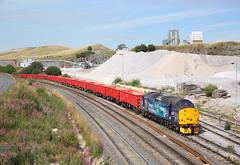 37716 Peak Forest 11/8/18 (Ram 69) Tags: 37716 drs directrailservices class37 stone quarry derbyshirerailways peakforestpeak district dbs db cargo