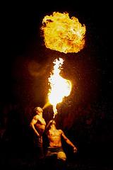 fireball (the-father) Tags: firebreather night fire fireball mittelalterspectaculum baernau upperpalatinate oberpfalz bavaria bayern germany