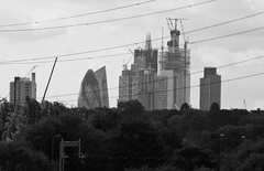 Distant City (dwimagesolutions) Tags: england london walthamstow walthamstowwetlands bw cityoflondon summer nikond7200 zoomnikkor70300mmvrf4556