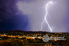 DSC_5475 (Isaeagle) Tags: storm lightening weather mountisa queensland qld australia longexposure landscape thunderstorm scenic scenery nightphotography nightscape