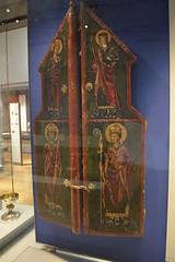 London, England, UK - British Museum - Altarpiece, Germany, c 1250 (jrozwado) Tags: europe uk unitedkingdom england london museum britishmuseum history culture anthropology altarpiece