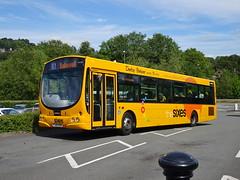 trent barton 689 Matlock (Guy Arab UF) Tags: trent barton 689 fj55bzr scania l94ub wright solar bus matlock station derbyshire wellglade buses wellgladegroup