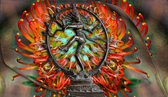 Shiva (PaulO Classic. ©) Tags: shiva hindu photoshop canon eos450d protea ddg dance 3d