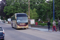 IMGP0907 (Steve Guess) Tags: hsk647 citylink gold plaxton elite coach bus aviemore highlands scotland gb uk parks hamilton volvo b12b