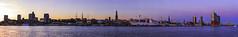Hamburg Sunset Panorama (FH | Photography) Tags: hamburg hh hansestadt capsandiego skyline sunset sonnenuntergang ufer elbe hafen hafencity elbphilharmonie landungsbrücken museumschiff wahrzeichen deutschland europa norddeutschland hafenstadt michel stadt city rickmersriemer stpauli hanse
