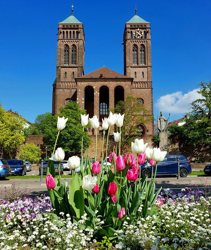 Sympathisch Blumen Mai Dekoration Von Kirche Pirmasens (nature_77) Tags: Pirmasens Ps Südwestpfalz