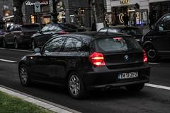 Romania (Timisoara) - BMW 1series E81 (PrincepsLS) Tags: romania romanian license plate tm timisoara germany berlin spotting bmw 1series e81