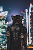 Wolf in the city (hackdragon) Tags: wolf canine werewolf sexy muscle furry fursuit friday cityscape portrait low light 85mm singapore dog bitch costume cosplay