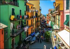 Nelle vicole di Manarola (angelofruhr) Tags: manarola italien 5terre ligurien italy altstadt