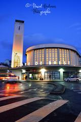 Gare de Brest (France, Finistère) (pascalkerdraon) Tags: france bretagne brittany finistere penn pen ar bed brest gare nuit crepuscule