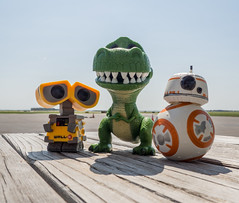 Funko Flight Day (PhotoSkunk) Tags: airport fly flying minnesota pilot summer funko popfunko funkopop toys toy