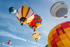 UP (Paul C Stokes) Tags: bristol international balloon fiesta festival 2018 40th year anniversary court ashton hot air mass launch ascent balloons sony 1635 zeiss sky