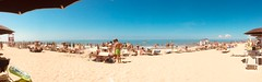Marine Biology (Roberto Rubiliani) Tags: vacanze holidays summer estate beach spiaggia sabbia sand hot caldo tirreno iphone panorama pisa acqua water sun sole tourists turisti persone people robertorubiliani rubiliani tirrenia tuscany toscana sea mare
