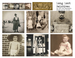 Long Lost Relatives (Nik the Booksmith) Tags: brag book nik booksmith bookmaker youtuber youtube relatives vintage uncle aunt grandpa grandma cousin filmstrip family