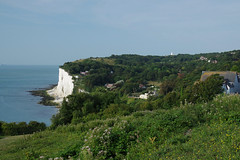 """""""A big cycle"""" NCR1, NCR 17 and 18 (favmark1) Tags: cliff whitecliffs coast cycle bigcycle kent morning stmargarets ncr1 nationalcoastalpath"""