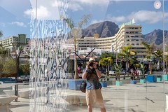Reflecting on the Costa Adeje (Nodding Pig) Tags: costaadeje tenerife canaryislands islascanarias spain españa reflection santamaria holiday winter 2018 201801279231101