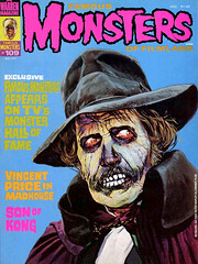 Famous Monsters #109 (1974), cover by Basil Gogos (gameraboy) Tags: vintage famousmonsters 109 1974 cover basilgogos 1970s art illustration vincentprice madhouse