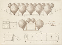 Auguste Lanteigne proposes a system of airship navigation utilizing a series of 16 balloons on a single keel. Original from Library of Congress. Digitally enhanced by rawpixel. (Free Public Domain Illustrations by rawpixel) Tags: air aircraft airship antique art augustelanteigne balloonist balloons design direction directions document drawing drawings drum guide guideline illustrated illustration ink instructions keel lithographs manipulate measurement measuring moveable name navigation old procedure science scientific sketch step system testing vintage wind
