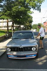 (Paul Comstock) Tags: 15aug2018 august 2018 wednesday summer newpaltz newyor morningbikeride pauldaviscomstock canons120 bmw turbo turbo2002 bmw2002 bmwturbo2002 2002 automobile car