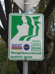 Neighbourhood Watch sign (RS 1990) Tags: thursday 16th august 2018 adelaide southaustralia neighbourhoodwatch sign clarencepark georgestreet